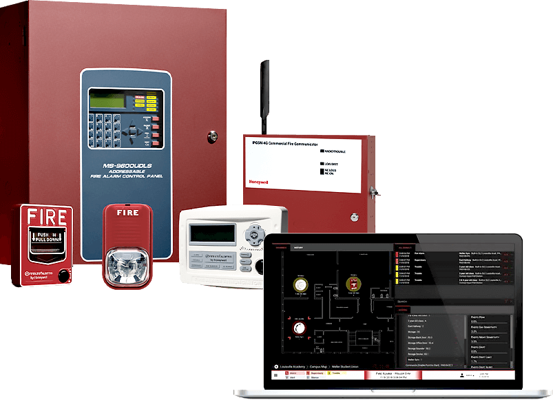 Commercial Fire Alarm Systems - 2 Krew Security And Surveillance
